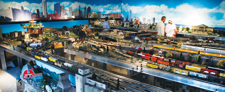 Indoor Model Train Museum
