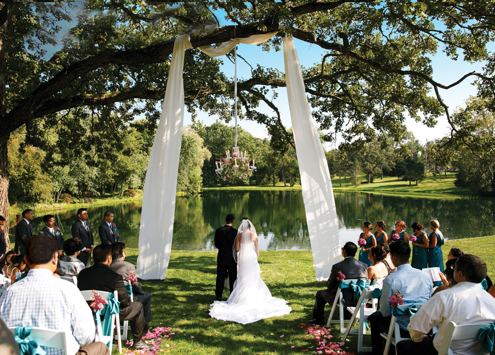wedding ideas for spring outside wandering tree estate best garden wedding and event 27964